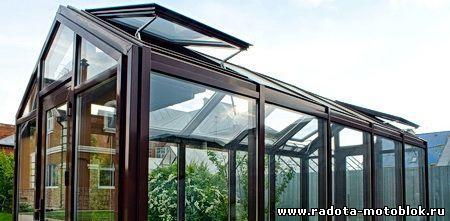 Фрамуги в теплице на крыше